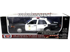 MOTORMAX 73539 2001 FORD CROWN VICTORIA LAPD LOS ANGELES POLICE DEPT CAR 1/18
