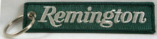 "Remington Embroidered Key Chain, Firearms, Rifles, 4.5"" key fob,"