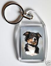 Border Collie Key Ring By Starprint - No 9