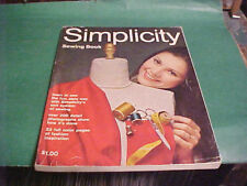 1970 SIMPLICITY SEWING BOOK OVER 200 DETAIL PHOTOGRAPHS