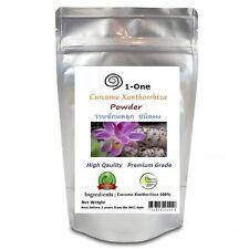 500 g CURCUMA XANTHORRHIZA Roxb. Powder 100%, Organic Pure Herbs 1.1 lbs