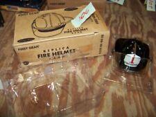 89-0109 FIREFIGHTER DEPARTMENT FIRST GEAR HELMET BANK ORIGINAL BOX NEW Bank