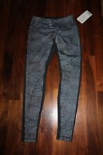 NWT Lululemon Wunder Under Pant bead envy Golden Goddess Luon 8 M pants, tights