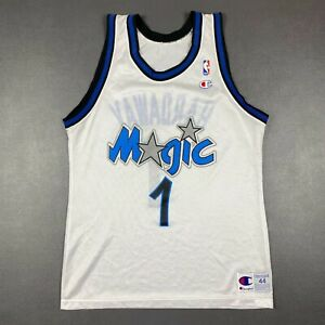 100% Authentic Penny Hardaway Vintage Champion Magic Jersey Size 44 M L