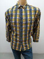 Camicia CAMEL Uomo taglia size L chemise homme shirt man maglia polo uomo p 6104