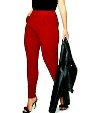 **New 2020 LOOK Plus SIZE Chilli RED Pocket TAILORED Trouser MADE IN UK 16-24**