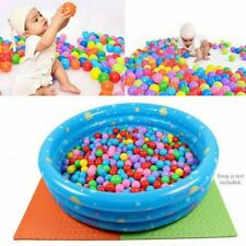 100 PC Colorful Ball Soft Plastic Ocean Ball Funny Baby Kids Swim Pit Pool Toys