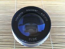 MEOPTA MEOPAR 210mm 4.5, HELIAR LENS IN BARREL