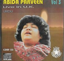 ABIDA PARVEEN - LIVE IN UK PUNJABI - NEW SOUND TRACK CD