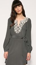 WAREHOUSE @ ASOS SILK EMBROIDERED TUNIC DRESS TOP SHIFT RRP£65