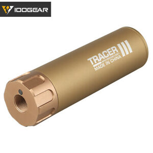 IDOGEAR Airsoft Lighter S Tracer Glow In Dark Tactical Tracer Unit BB Military