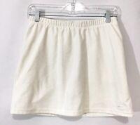 Nike Dri Fit Women's Tennis-Golf-Running Athletic Skirt Skort White SZ S