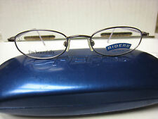 RIDERS by LEE  EYEGLASS FRAMES Style  LOTUS in PURPLE  45-18-130 With Case