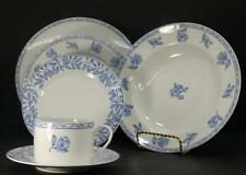 Rosenthal China Blue Elegance Garden Rose Service for 6 -6pc Place Setting 36pcs