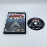 Jaws Unleashed (Sony PlayStation 2, 2006) PS2 No Manual
