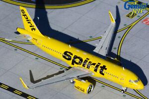 GEMINI JETS SPIRIT AIRLINES AIRBUS A320neo 1:400 DIE-CAST GJNKS1612 IN STOCK