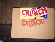 BOX OF 10 x 100gm NESTLE CRUNCH WHITE CHOCOLATE.. Long Date . Bargain..