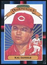 1988 Donruss Diamond Kings #14 Kal Daniels Cincinnati Reds
