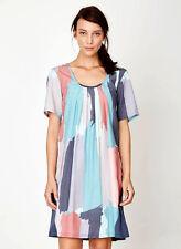 *SALE* THOUGHT (braintree) boho PINTURA tencel & JERSEY tunic DRESS smock BNWT