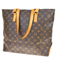 Auth LOUIS VUITTON Cabas Mezzo Shoulder Bag Monogram Leather BN M51151 38BQ333