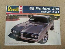 2001 Revell '68 Firebird 400 Ram Air 2 'n 1 Model Car Kit 1/25 Scale #85-2342