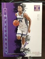 2019-20 PANINI IMPECCABLE BUDDY HIELD #6/10