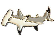 Hammerhead Shark Fish Angling Fisherman Angler Enamel Pin Badge Brooch NEW 25mm