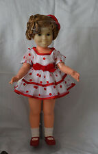 """SHIRLEY TEMPLE Ideal 16"""" 1972 """"Stand Up & Cheer"""" Doll original clothes"""
