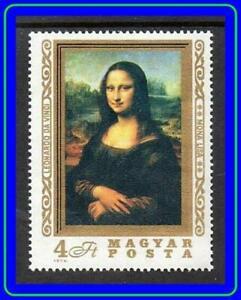 Mona Lisa = Hungary mnh LEONARDO da VINCI PAINTING