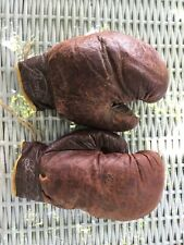 RARE Vintage Rocky Marciano BENLEE Boxing Glove Set