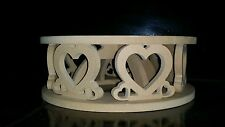 MDF round circular cake stand special occasions weddings birthday Engagements