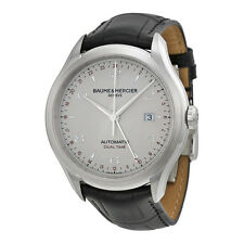 BAUME & MERCIER Clifton Dual Time AUTO Gents Watch 10112 - RRP £2300 - NEW