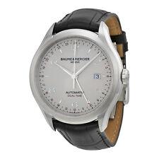 BAUME MERCIER Clifton doble hora Auto & Caballeros Reloj 10112-PVP 2300 € - nuevo