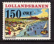 LOLLANDSBANEN DENMARK LOCAL RAILWAY STAMP,RAILWAYS,LOLLANDS BANEN,NHM