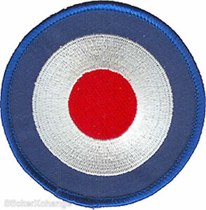 Mod Target PATCH Embroidered Iron-On
