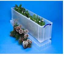 Really Useful 77 Litre Christmas Tree Box Stackable Size H36, W27, D120cm
