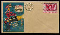Buck Rogers 1940s Sonic Ray Gun Featured on Collector's Envelope *OP501
