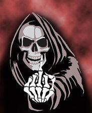 Grim Reaper 13 Airbrush Stencil Multi Layer Template Spray Vision