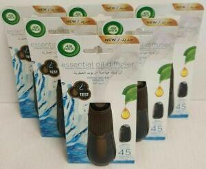 Air Wick Essential Mist Aroma Air Refill fresh water breeze 20ml x 6 bottles
