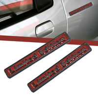 1* 3D Metal Limited Edition Universal Car Auto Emblem Side Badge Sticker Decal