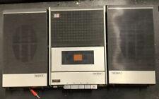 SONY TAPECORDER TV-124 Stereo Retro Vintage Radio Cassette Recorder with Case