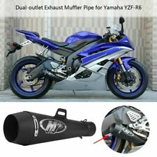 Motorcycle Exhaust Muffler Pipe M4 DB Killer Slip On Exhaust For logo R6 FZ09