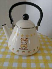 Hello Kitty Enamel Kettle Bear Suit