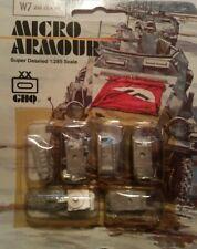 GHQ 1:285 Turret mounted quad Micro Armour Metal Kit #W7 ZSU 23/4 M (NOS)