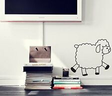 """Pop Decors """"Cute Sheep"""" Beautiful Wall Stickers for Kids Rooms"""