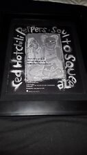 Red Hot Chili Peppers Soul To Squeeze Rare Original Radio Promo Poster Ad Framed