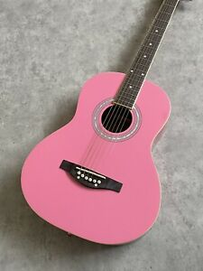 Childs 3/4 Size Guitar Acoustic Daisy Rock 'Debutante Junior Miss' in Pink £119