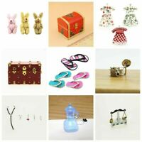 Modell für Kinder-Weihnachtsgeschenk-Mädchen Mini Kinder Puppenhaus 1:12 Zu S2Q3