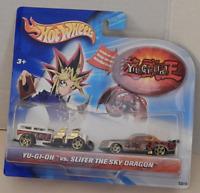 Hot Wheels Yu-Gi-Oh vs. Slifer the Sky Dragon Way-2-Fast At-A-Tude Vehicle Set