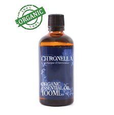 Mystic Moments | Citronella Organic Essential Oil - 100% Pure 100ml (CO100CITR)